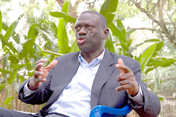 Dr Besigye was not given a chance to speak