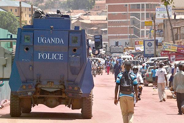 Anti Riot police
