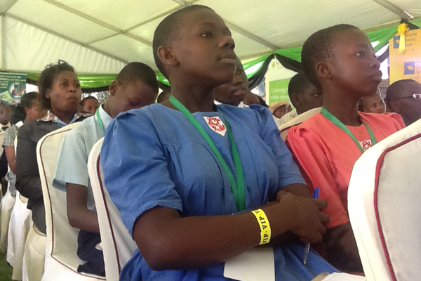 Delegates paying attention