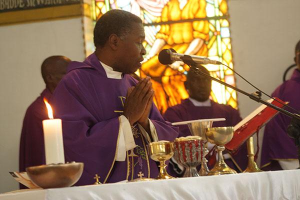 Monsignor Gerald Kalumba