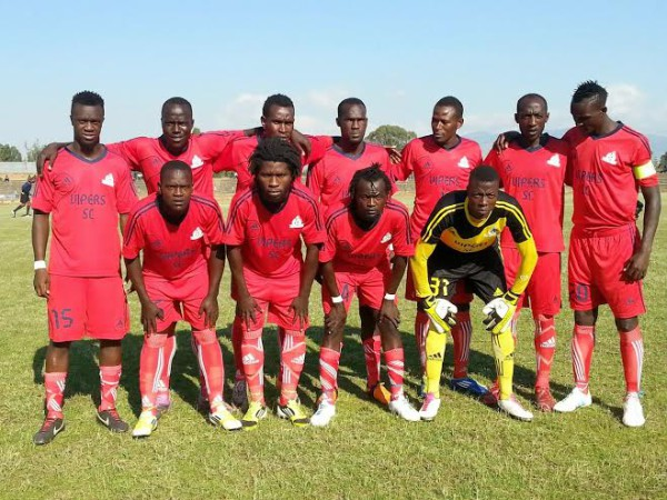 Vipers are Champions 2014/2015