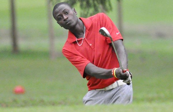Entebbe Club's Kitata Willy won the 2014 Uganda Golf Open