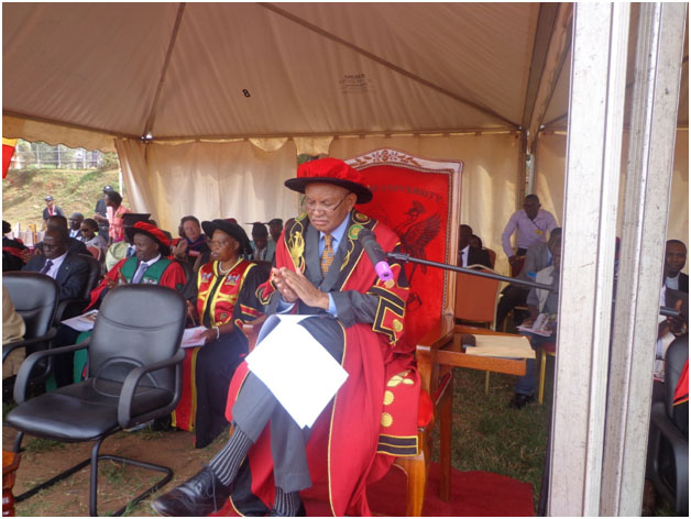 Prof Kagonyera speaking