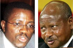 Museveni -  mayiga in a secrete meeting
