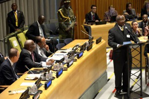 President Museveni Delivering Keynote Address