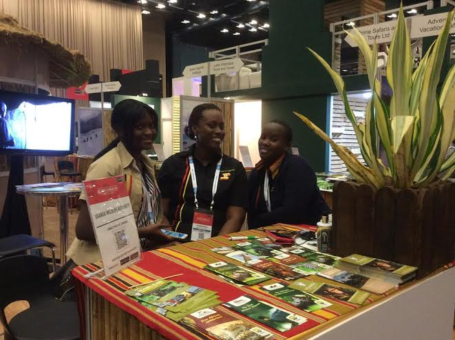 Team Uganda showcased the best products at the three- day event