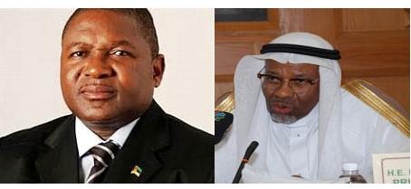 Filipe Nyusi & Dr Ahmad Mohamed Ali