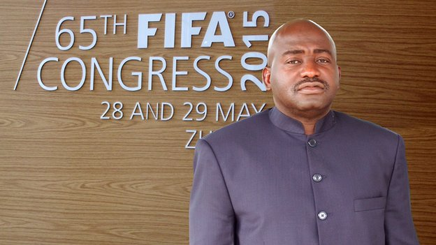 Musa Bility is eyeing FIFA presidency