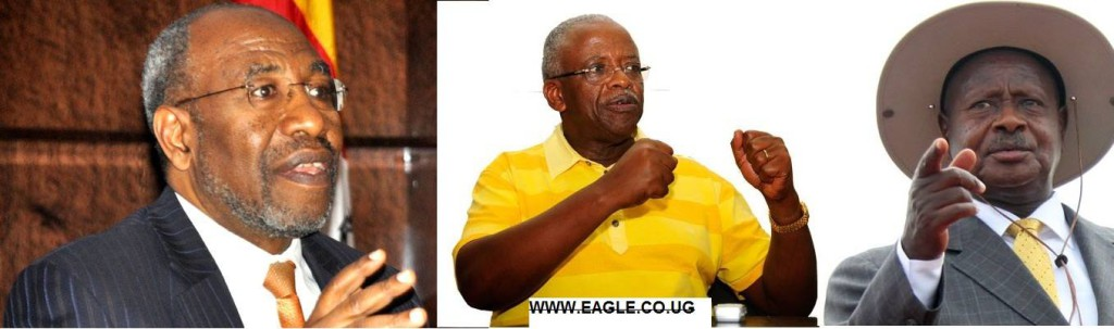 President Yoweri Museveni is in a secret meeting with Mr Mbabazi and Dr. Rugunda.