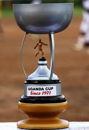 The prestigious Uganda Cup. SC Villa beat KCC FC 2-0 at Namboole today.