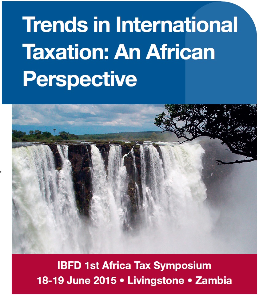 Zambia will host the inaugural African Tax Symposium, held under the theme: Trends in International Taxation: An African Perspective.