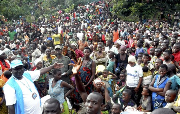 Uganda has been receiving about 8,800 refugees a day