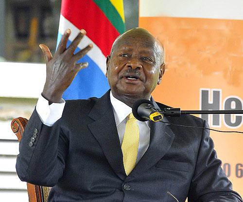 Ugandan leader