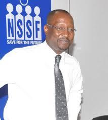 Richard Byarugaba NSSF boss.