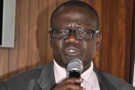 Minister Abraham Byandala.