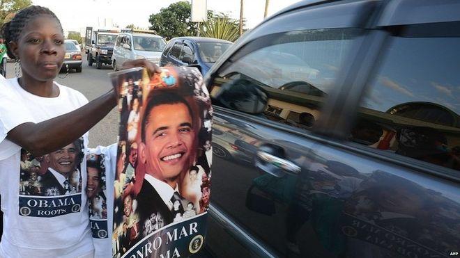 Kenyans gear up for President Obama.