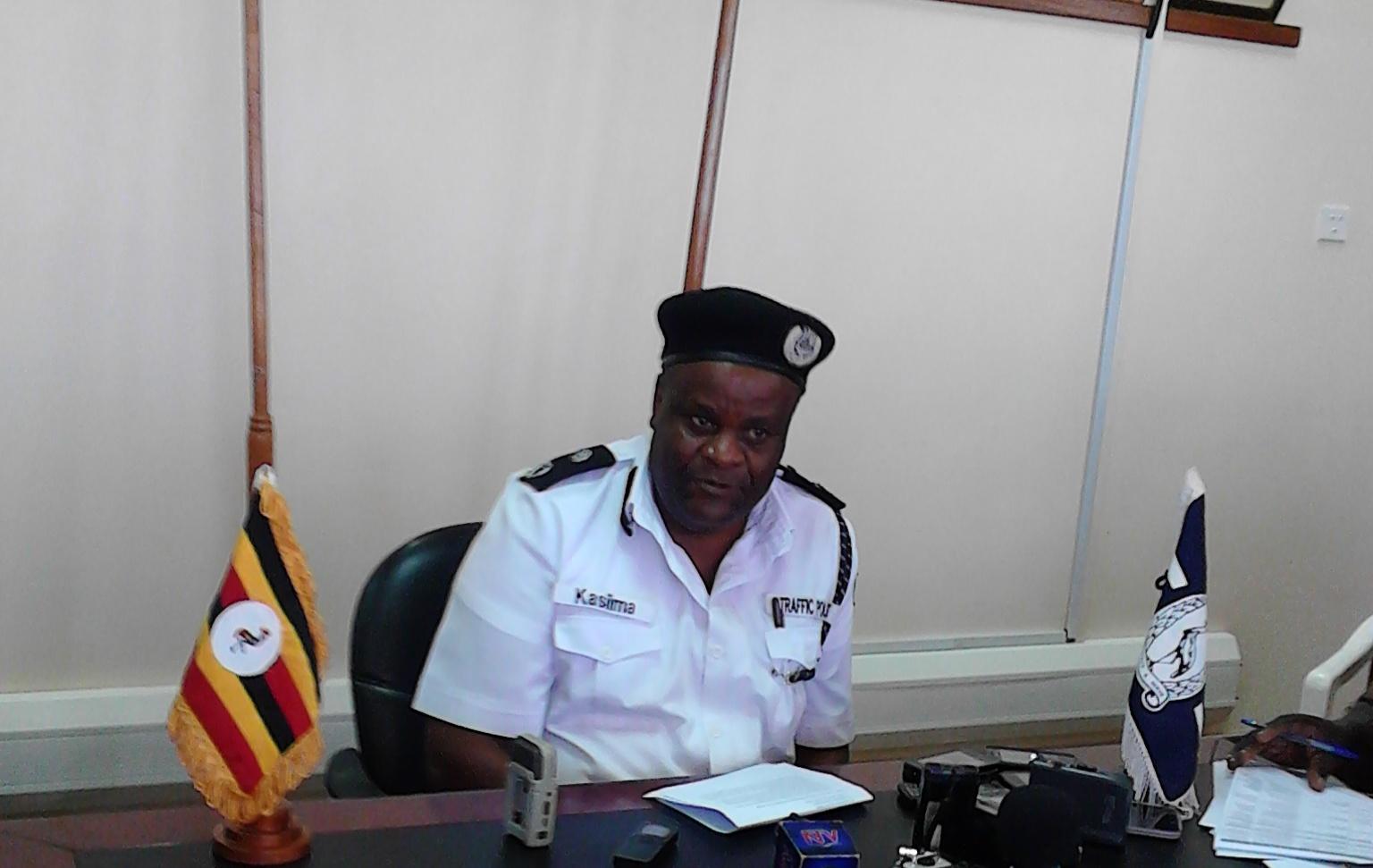traffic police uganda chief