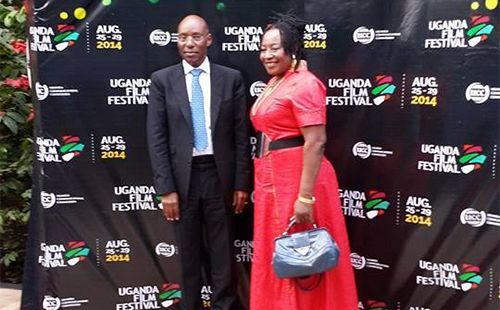 Uganda hosted Nigerian actress Patience Ozokwor at the launch of the Uganda Film Festival 2014.