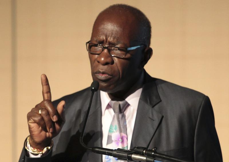 Former FIFA Vice-President Jack Warner.