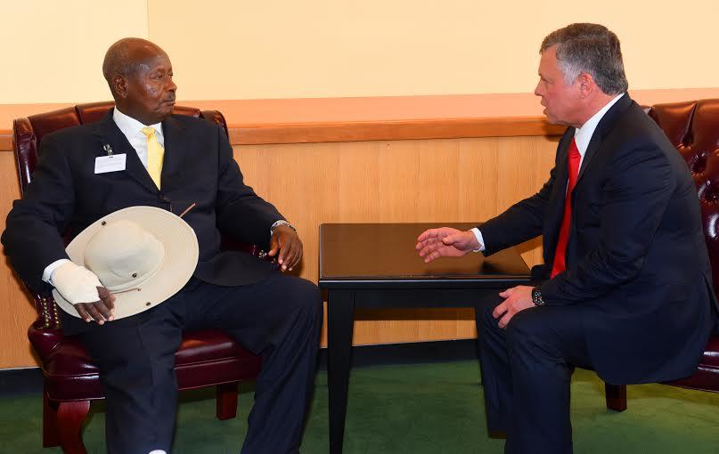 King of Jordan-Museveni