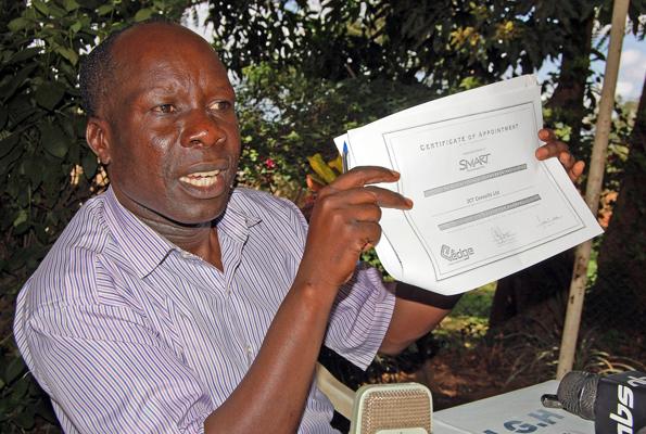 NRM-EC boss Dr. Tanga Odoi