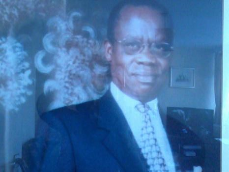 Former Speaker of Parliament Francis Ayume.