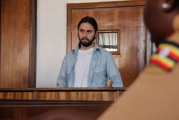 Ryan Andrew Gustafson, 28, was deported to the US last week after court charged him with counterfeit of more than Ugshs 540million