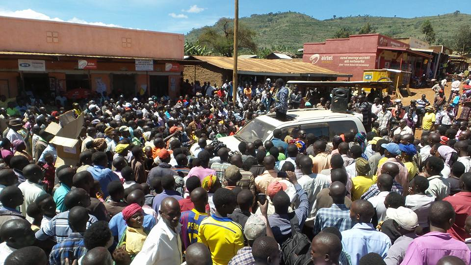 Besigye campaigns in Bukwo district, Eastern Uganda | Courtesy Photos