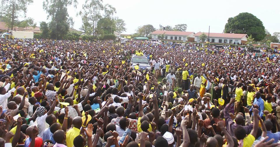 Museveni campaigns in Kanungu, Kigezi.